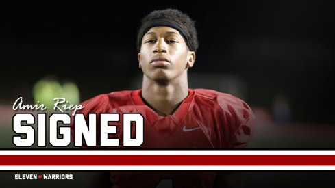 Signed: Four-star cornerback Amir Riep from Cincinnati Colerain High School.