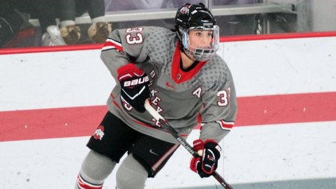 Jincy Dunne and the Ohio State Buckeyes fell to Minnesota-Duluth, 6-1, on Friday night.