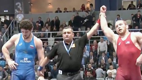 Kyle Snyder dominated on the way to winning the Yarygin Tournament in Russia.
