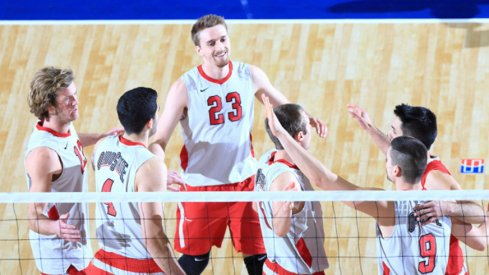 The Ohio State men's volleyball team has won a program-record 32 matches in a row