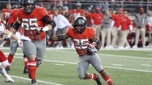 Mike Weber's patience as a runner will be a major asset in Kevin Wilson's offense