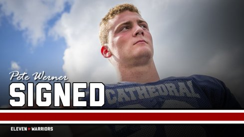 Four-star linebacker Pete Werner committed to Ohio State after backing off his Notre Dame pledge.