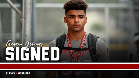 Signed: Four-star wide receiver Trevon Grimes of Fort Lauderdale, Florida.