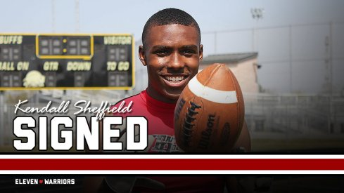 Ohio State cornerback signee Kendall Sheffield.