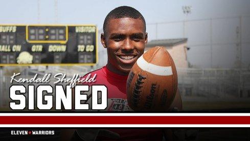Ohio State cornerback signee Kendall Sheffield.