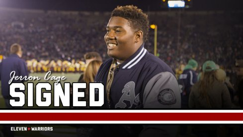 The Buckeyes held off the Irish for four-star defensive tackle Jerron Cage.