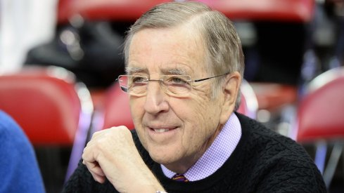 Brent Musburger talks about Holy Buckeye, wrongly says Drew Brees played in that game and more on Tuesday during Ohio State's game against Maryland.