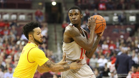 Ohio State fell to Maryland in Columbus on Tuesday at Value City Arena.