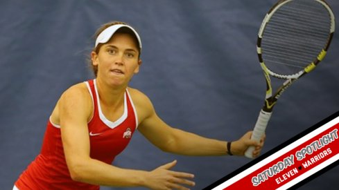 She's Italian, No. 3 in the country for singles, but most importantly, she's a Buckeye.