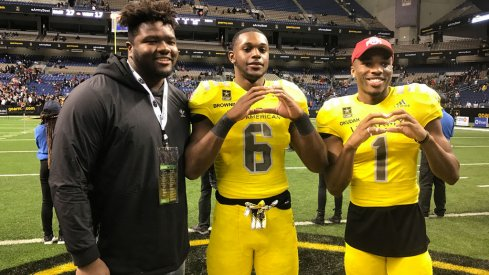 Baron Browning said Marvin Wilson is down to Ohio State and Florida State. Will he pick the Buckeyes?
