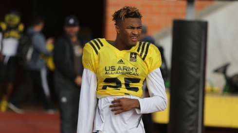 Ohio State CB Shaun Wade at the Army All-American game.