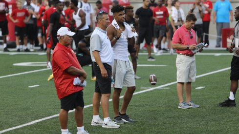 A look at the different trends in sizes of recruits at wide receiver at Ohio State under Urban Meyer.
