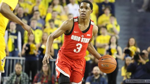 Ohio State clipped Michigan on Saturday night for its second Big Ten road victory of the season.