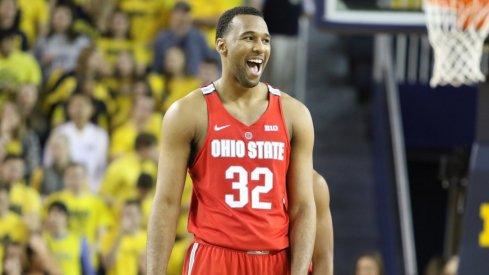 Ohio State center Trevor Thompson had a big game vs. Michigan.