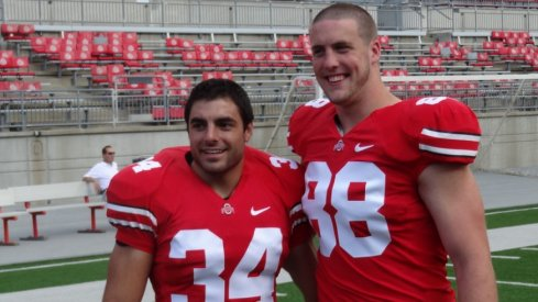 A young Nate Ebner, before his professional playing days.