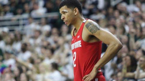 Ohio State forward Marc Loving against Michigan State