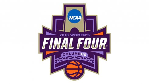 A look at the 2018 women's Final Four logo in Columbus.