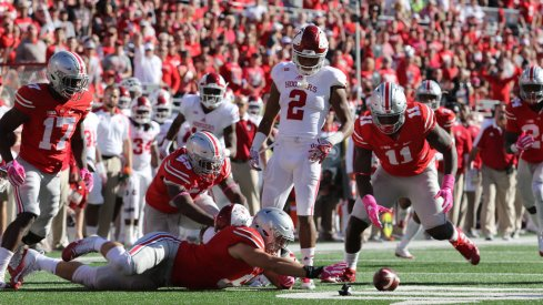 How does Ohio State's defense improve from a historic season in 2016?