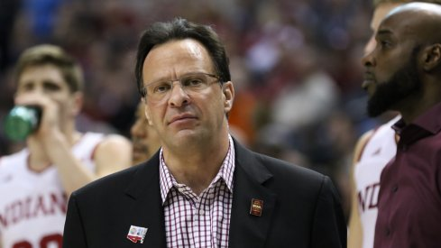 Tom Crean, head basketball coach of the Indiana Hoosiers