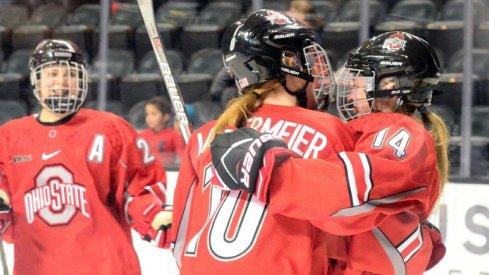 More hockey hugs!