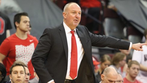 Ohio State coach Thad Matta on the sidelines against Nebraska.
