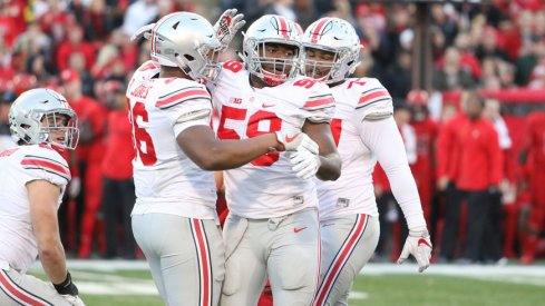 Ohio State's defensive line is loaded in 2017.