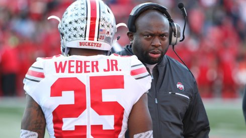 Mike Weber, Demario McCall and the others involved in the Ohio State backfield this spring.