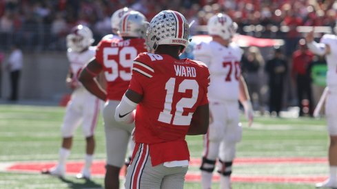 Ohio State's Denzel Ward is likely to start at corner.
