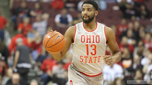 Ohio State rode a huge first half from Jae'Sean Tate to a rout of No. 16 Wisconsin on Thursday.