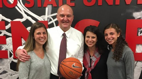 Thad Matta and family