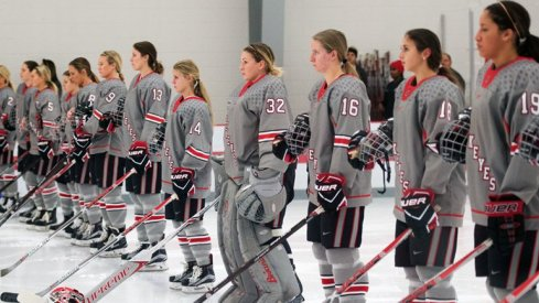 Ladies and gentlemen, your 2016-17 Ohio State women's hockey Buckeyes.