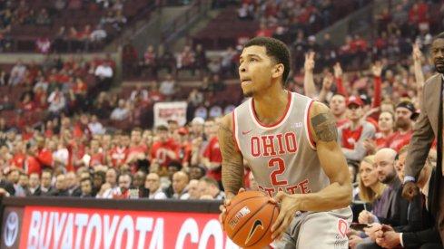 Ohio State senior forward Marc Loving.