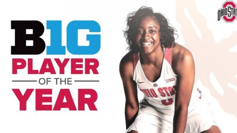 Kelsey Mitchell named Big Ten Player of the Year for the second time.
