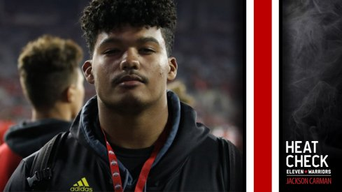 Five-star tackle Jackson Carman is Ohio State's top target for the Class of 2018.