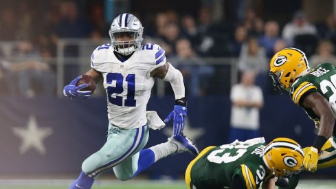 Examining the chance Ezekiel Elliott's success as a rookie has at changing the perception of rookie running backs.