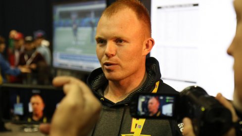 Video interviews with Cam Johnston, Noah Brown and Curtis Samuel from Friday at the 2017 NFL Combine.