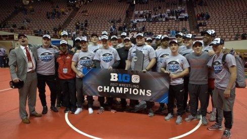 Ohio State wrestling: Big Ten champions.