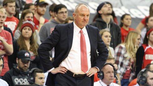 Ohio State coach Thad Matta will return next season, according to a report.