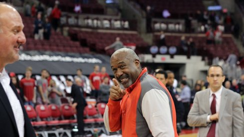 Gene Smith releases statement of support of Ohio State men's basketball coach Thad Matta.