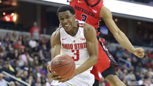 Ohio State bows out in the first round of the Big Ten Tournament, falling to Rutgers on Wednesday.