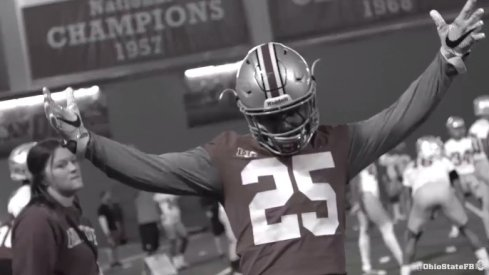 Ohio State football practice highlights.