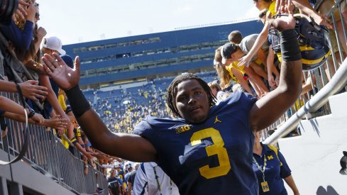 Rashan Gary is a near lock to fill one of Michigan's vacant defensive end spots.