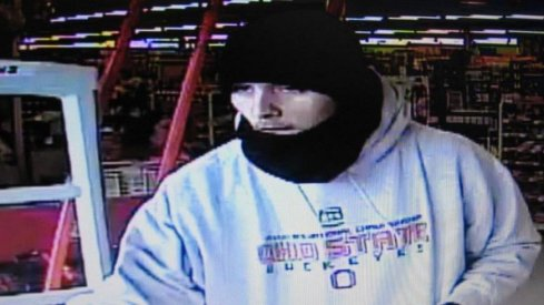 Scumbag Ohio State fan robbed a Dollar General, lol.