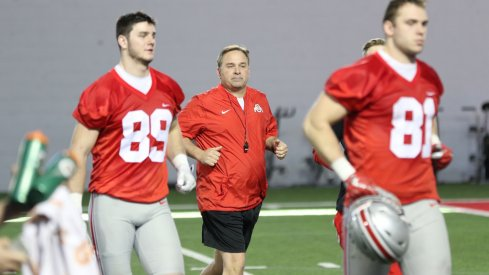 Kevin Wilson's desire to use tempo in Ohio State's offense is already on display at spring practice.