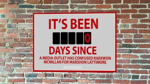 Nobody knows what Marshon Lattimore looks like.