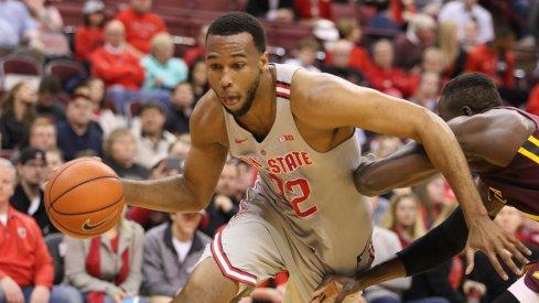 Ohio State's Trevor Thompson is turning pro.