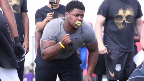 The Buckeyes are in prime position to land the country's top-rated defensive tackle.
