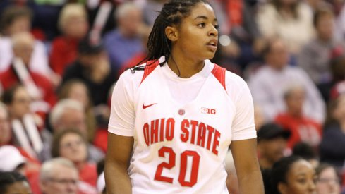Asia Doss took over with Kelsey Mitchell struggling to find points.