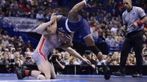 Buckeye junior Bo Jordan fell short in his bid to capture a national title.