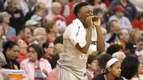 Shayla Cooper pulled down a season-high 15 rebounds against Western Kentucky.
